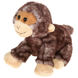 "7"" Plush Lying Monkey By Giftable World®"
