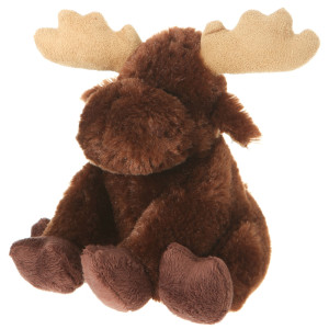 "7"" Plush Moose By Giftable World®"