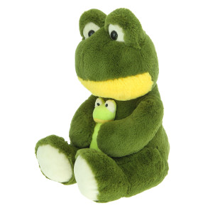 16'' Plush Frog With Baby By Giftable World®
