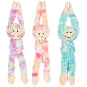 "12"" Assorted Plush Long Arms Monkey By Giftable World®"