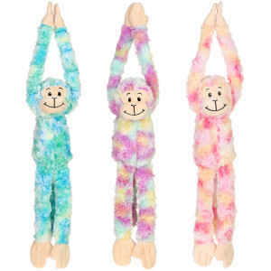 "18"" Assorted Plush Long Arms Monkey By Giftable World®"