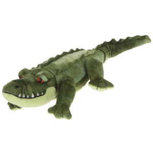 "14"" Plush Green Alligator By Giftable World®"