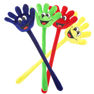 "19"" Assorted Color Laughing Hands by Giftable World"