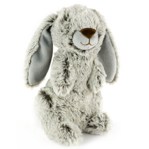 "9"" Two Tone Standing Rabbit with Squeaker and Crinkle Ears - MetroPawlinPet Collection by GiftableWorld"