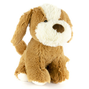 "9"" Sitting Terrier with Squeaker and Crinkle Ears - MetroPawlinPet Collection by GiftableWorld"