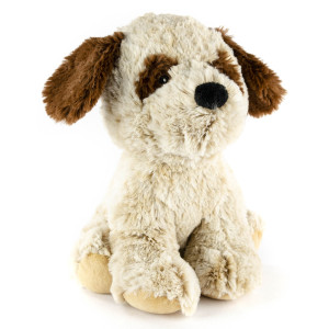 "9"" Sitting St. Bernard with Squeaker and Crinkle Ears - MetroPawlinPet Collection by GiftableWorld"