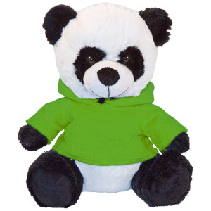 "10"" Plush Panda With Customizable Hoodie By Giftable World®"