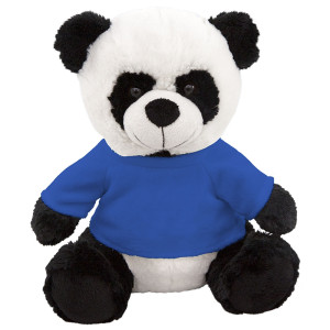 "10"" Plush Panda With Customizable T-Shirt By Giftable World®"