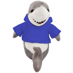 "10"" Plush Shark With Customizable Hoodie By Giftable World®"