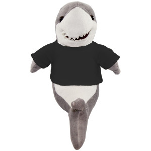 "10"" Plush Shark With Customizable T-Shirt By Giftable World®"