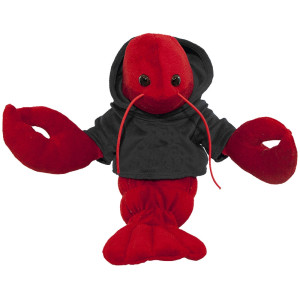 "10"" Plush Lobster With Customizable Hoodie By Giftable World®"