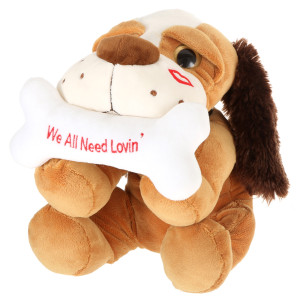 "14"" Lying Valentines Dog by Giftable World"