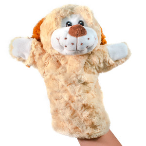 "12"" Plush Puppy Hand Puppet By Giftable World®"
