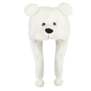 "17"" Polar Bear Hat By Giftable World®"