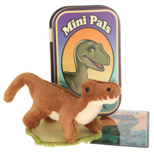 Mini Pals Velociraptor Dinosaur Tin By Giftable World®