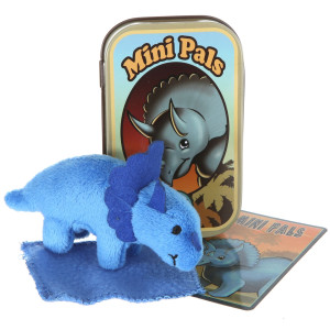Mini Pals Triceratops Dinosaur Tin By Giftable World®