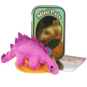 Mini Pals Stegosaurus Dinosaur Tin By Giftable World®