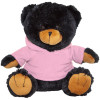 "10"" Plush Black Bear With Customizable Hoodie By Giftable World®"