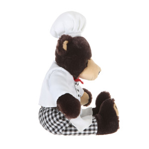 "10"" Plush Bear Chef By Giftable World®"