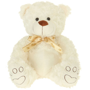 "13"" Plush Cream Bear By Giftable World®"