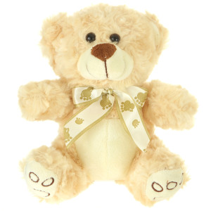"7"" Plush Light Brown Bear By Giftable World®"