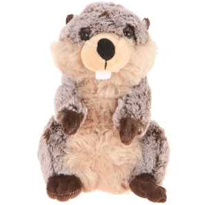 """9"""" Plush Standing Beaver By Giftable World®"""