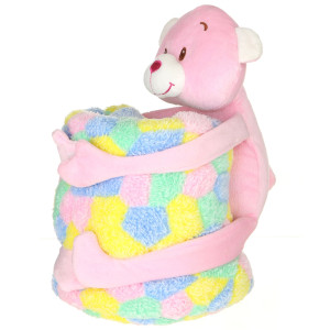 4 Assorted Plush Animals With Blankets By Giftable World®
