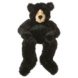 "25"" Plush Black Bear By Giftable World®"