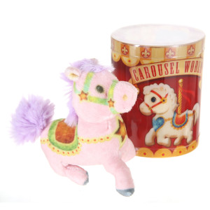 Plush Carousel Assorted Horse By Giftable World®