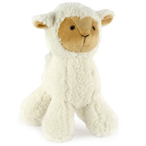 "9"" Standing Lamb with Squeaker and Crinkle Ears - MetroPawlinPet Collection by GiftableWorld"