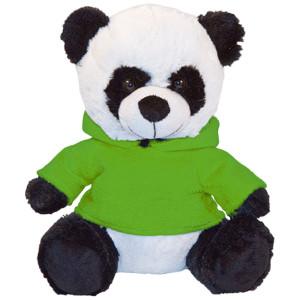 "10"" Plush Panda With Customizable Hoodie By Giftable World®"
