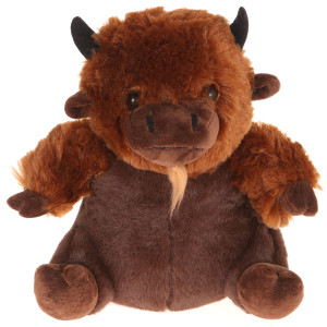 "10"" Plush American Buffalo By Giftable World®"