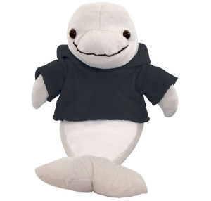 "10"" Plush Dolphin With Customizable Hoodie By Giftable World®"