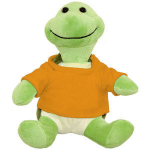"10"" Plush Turtle With Customizable T-Shirt By Giftable World®"