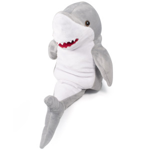 "10"" Plush Shark Hand Puppet By Giftable World®"