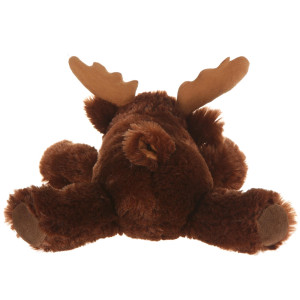 "10"" Plush Lying Moose By Giftable World®"