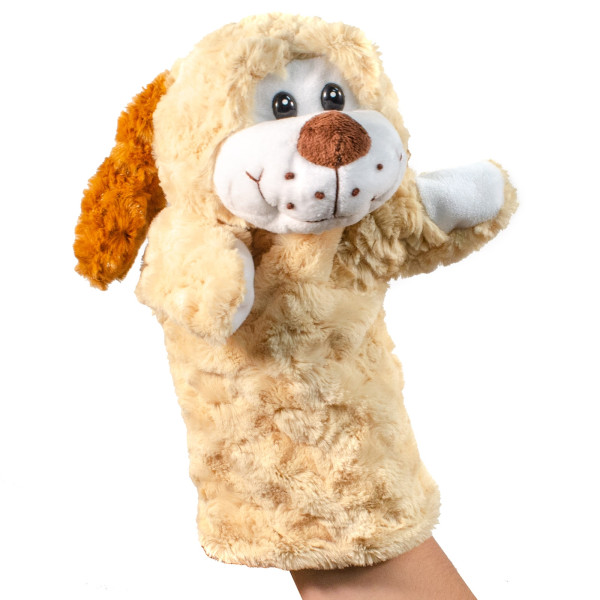 "12"" Plush Puppy Hand Puppet By Giftable World"
