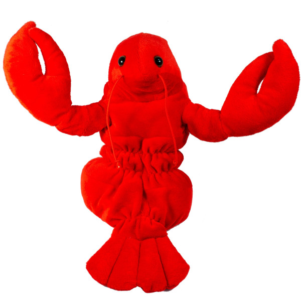 """10"""" Plush Lobster Hand Puppet By Giftable World"""
