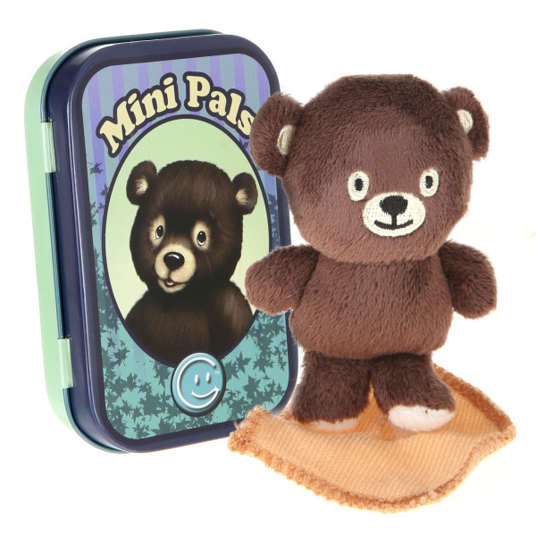 Mini Pals Plush Bear Tin By Giftable World®